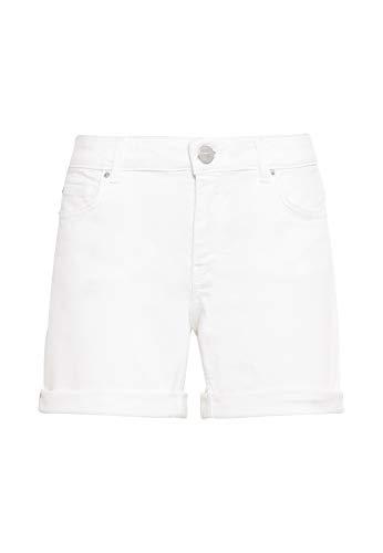 HALLHUBER Jeansshorts gerade geschnitten weiß, 36