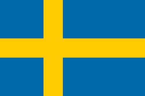 magFlags Bandera Large Sweden 3-2 | Sweden | Bandera Paisaje | 1.35m² | 90x150cm