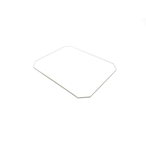130mm X 160mm, 3mm Thick Borosilicate Glass Build Plate, Monoprice Select Mini 3D Printer