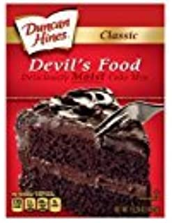Duncan Hines Classic Devils Food Cake Mix, 15.25 Ounce (Pack of 14)