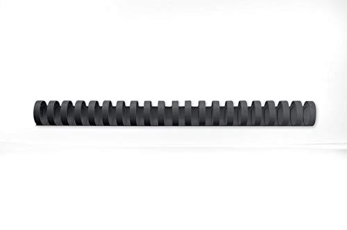GBC Dorsi plastici 21A 16mm 100pz - Nero - 4028600