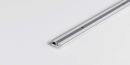 PARADOR Werkzeug Übergangsprofil Aluminium Silber für Vinyl/Laminat Bodenbeläge 7-15 mm