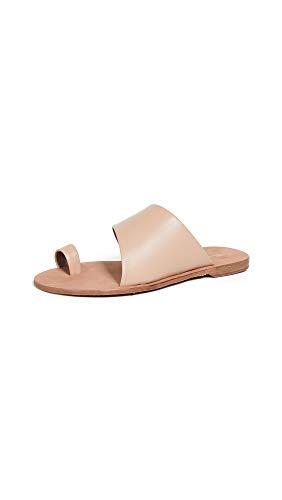 Diane von Furstenberg Women's Brittany Slides, Cappucino, Tan, 5.5 Medium US
