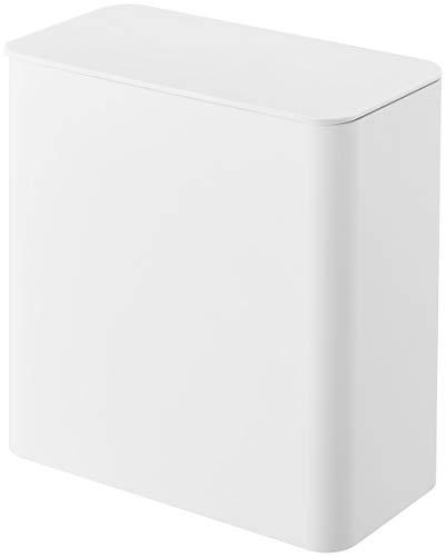 山崎実業 マグネット洗濯洗剤ボールストッカー ホワイト 約17X9.5X17cm タワー ジェルボール ストッカー 4266