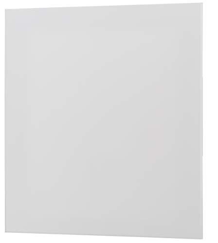 MKK Wandabdeckung Loch Abdeckung Wandhalterung Front Lüfter Halterung Rosette Gitter Wandverkleidung Kunststoff - weiß matt