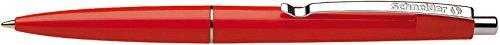Schneider Office balpen, drukmechanisme, M rood