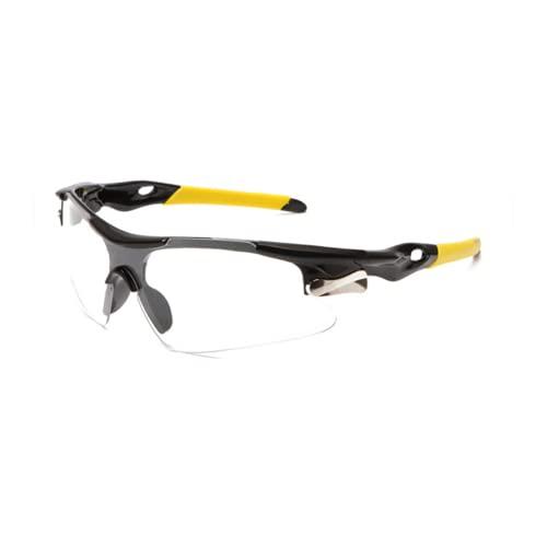PROTECT gafas padel gafas proteccion padel con lentes transparentes protectoras gafas de seguridad deportivas + toalla antivaho para vision optima + pegatina de padel