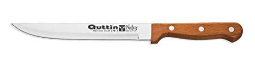 Cuchillo ECOLOGICO Trinchar o Filetero Verduras de 20cm Mango de Madera Natural