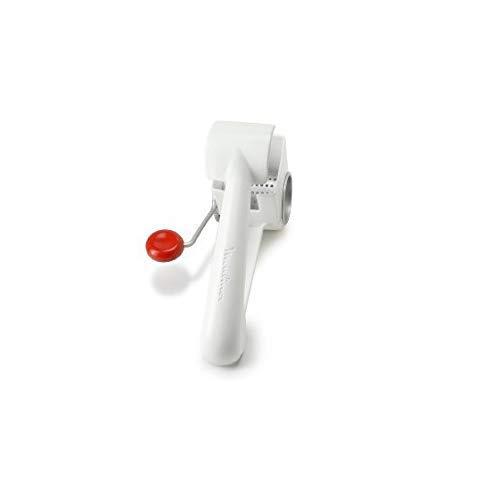 Moulinex K1014014 Rallador con manivela, plástico, blanco y rojo