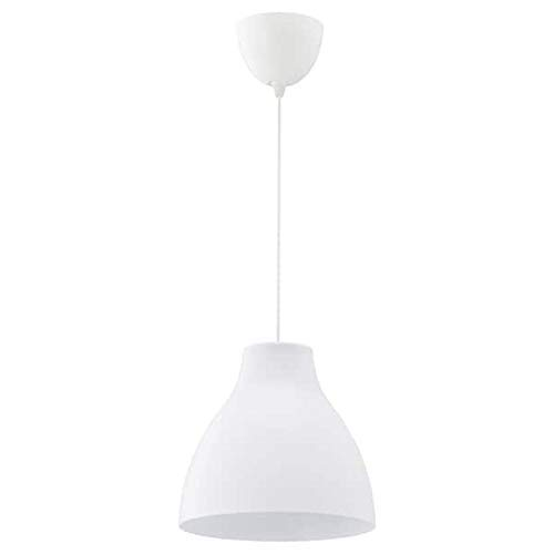 Melodi Hängeleuchte (195cm), Plastik, White, 26 x 28 x 28 cm [Energieklasse A++]