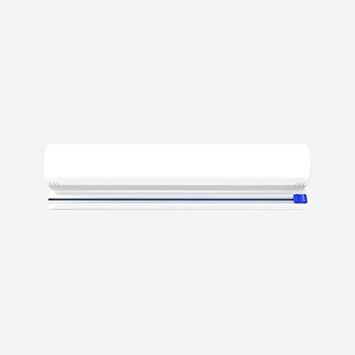 Katyma Cortador de papel de aluminio, dispensador de papel de cocina, bandeja para film transparente, lámina de estaño, cocina doméstica