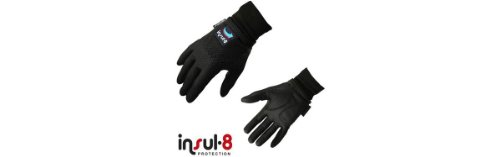 Mens Classic Insul-8 Gloves Small Black Golf Accessories Gloves and Mitts
