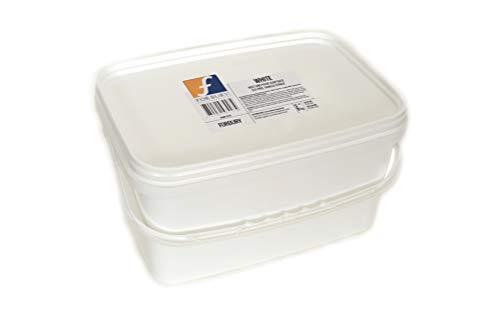 6kg Base de Savon de glycérine Blanc White Opaque, Melt and pour Soap Base(Fondre et Verser), sans SLS