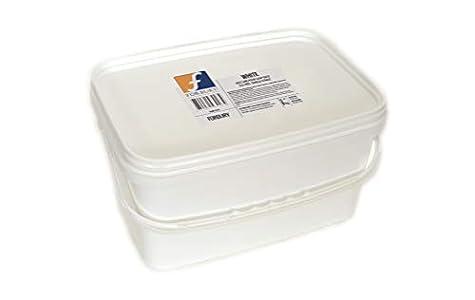 6kg Base Jabón de glicerina, Blanco sin SLS