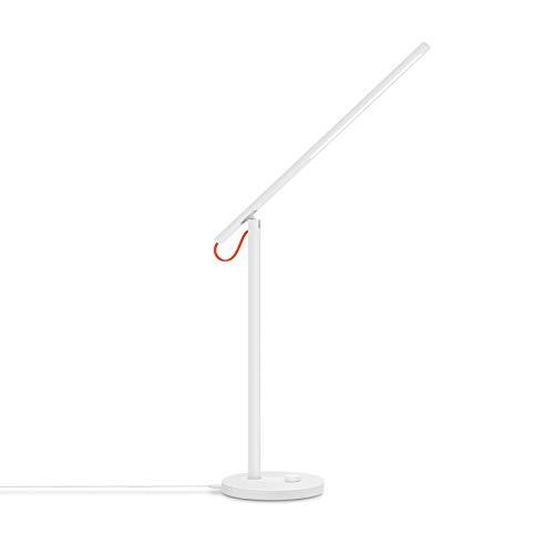 Xiaomi Mi Smart LED Desk Lamp Schreibtischlampe (Dimmbar, Kalt- bis Warmweiß frei wählbar, Smart Home iOS/Android Appverbindung via Mi Home App, Unterstützt Sprachassistenten z.B. Amazon Alexa)