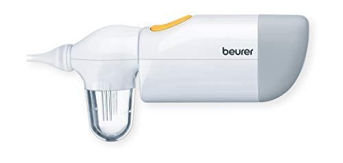 Beurer NA 20 Nasensauger, befreit verstopfte Nasen, entfernt Nasensekret, geeignet für Babys und Kleinkinder, sanft und hygienisch, sichere und schnelle Anwendung