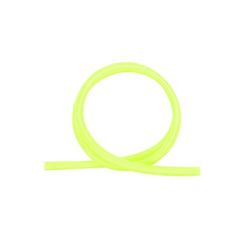 Shisha King Premium Silikonschlauch glänzend   150cm lang   für alle Wasserpfeifen & Mundstücke   Zubehör Shisha Schlauch lebensmittelecht Silikon (Neon Gelb)