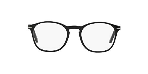 Persol Herren 3007V 95 (50 mm) Brillengestell, schwarz