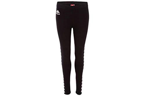 Kappa Damen 707077-005_L Leggings, Black, L