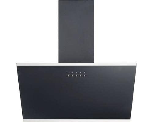 PKM S23-60 ABPY Schräghaube Abluft/Umluft Glas schwarz 60 cm