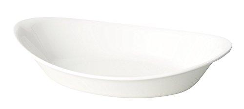 パール金属『あつかいやすいカレー&パスタボウル(ホワイト)(K-6389)』ホワイト日本製K-6389