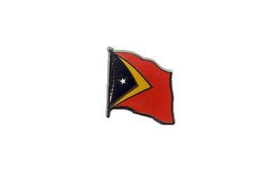 Flaggen-Pin/Anstecker Osttimor vergoldet