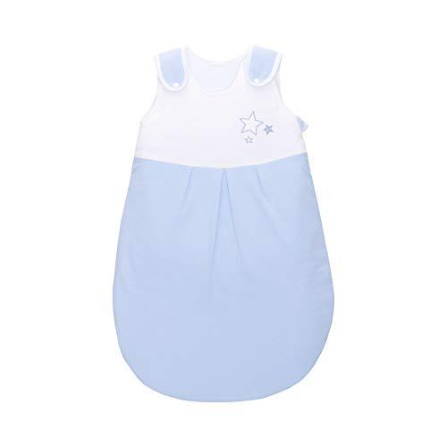 BORNINO HOME Gigoteuse Toutes Saisons étoile Gigoteuse bébé, Bleu Ciel