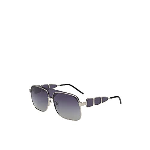 MO Gafas De Sol Polarizadas Palomo Alicia Sun De Hombre Y Mujer. Gafas Cuadradas De Color Gris