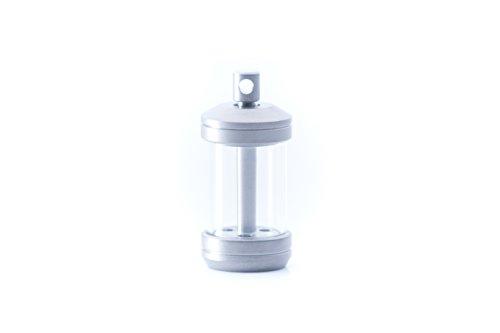 TEC-T323-3W Isotope Reactor Fob - Titanium housing Holds Three 3x23mm tritium vials