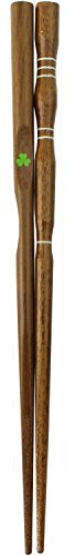 Ishida Discipline Chopsticks (How to Hold) Three-Point Support Japanese-Made Wooden 18cm for (Natural Wood) Children