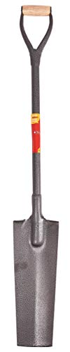 Photo of Amtech U1875 1.2m (4ft) Trench Shovel for Lifting and Moving Materials, Digging and Creating Drainage Channels