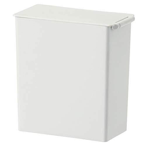 無印良品 ポリプロピレンごみ箱・角型・ミニ(約0.9L) 約幅7×奥行13.5×高14cm