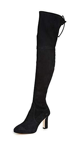 Stuart Weitzman Women's Ledyland Boots, Black, 11 Medium US
