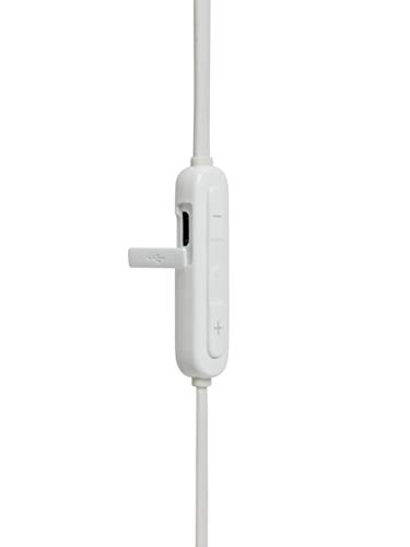 JBL Tune110BT In-Ear Bluetooth-Kopfhörer in Weiß – Kabellose Ohrhörer mit integriertem Mikrofon – Musik Streaming bis zu 6 Stunden mit nur einer Akku-Ladung kaufen  Bild 1*
