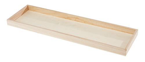 Rayher 62689000 Holz-Tablett, FSC 100%, 45x13,5x2,3cm