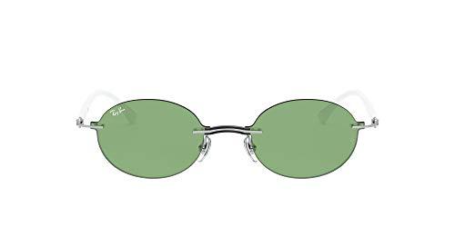 Ray-Ban RB8060-003/2 Gafas de sol, Plata, 54 Unisex