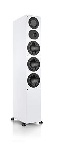 Nubert nuLine 284 Standlautsprecher | Lautsprecher für Musikgenuss | Heimkino & HiFi Qualität auf hohem Niveau | Passive Standbox mit 3 Wege Technik Made in Germany | Standbox Weiß | 1 Stück