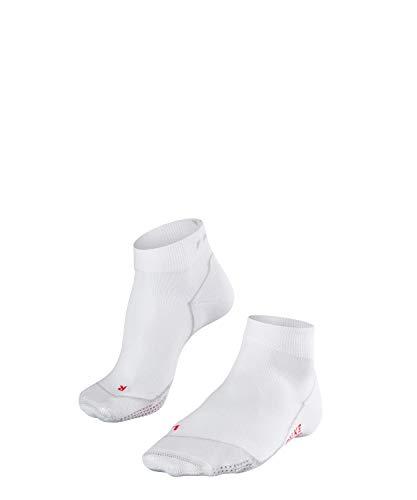 FALKE Damen Laufsocken Impulse Air Knöchellange Socke mit Netzgestrick im Ballenbereich für optimale Belüftung und verbesserte Koordination, 1er Pack, Weiß (White 2000), 37-38 (UK 4-5 Ι US 6.5-7.5)
