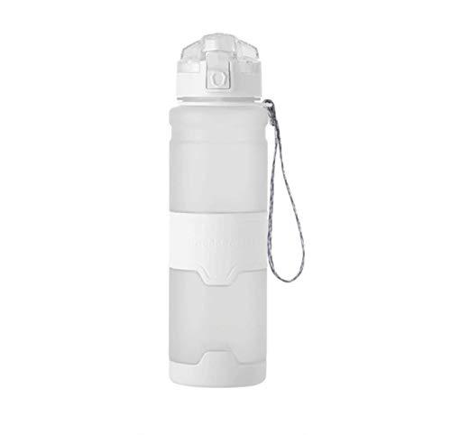 MissLi Botella De Agua De Plástico Tritan, Botella De Agua Deportiva para Deportes, Portátil, Viajes Al Aire Libre, Senderismo, Senderismo, Bicicleta, Hervidor Deportivo, Taza De Té