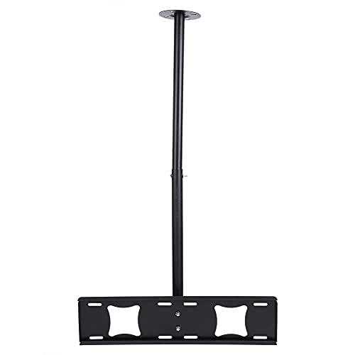 Soporte de montaje en techo para TV, inclinación ajustable LED LCD Soporte de montaje en techo para TV 32-63 pulgadas Rotación de 360 ° Giratorio hacia abajo 15 grados de inclinación Soporte de movi