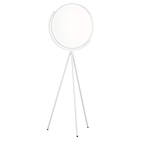 Staande Lamp LED Studio statief Floor licht met acryl lampenkap, Staande Lamp for Modern Living Room Slaapkamer Kantoor Decoration Lamp LED (Color : White, Size : 62cm*168cm)