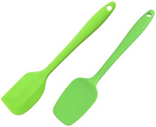 Silicone Spatula Set 2pcs - Rubber Spatulas Heat Resistant, Kitchen Utensils, Non-Stick for Cooking, BPA Free, Baking and ...
