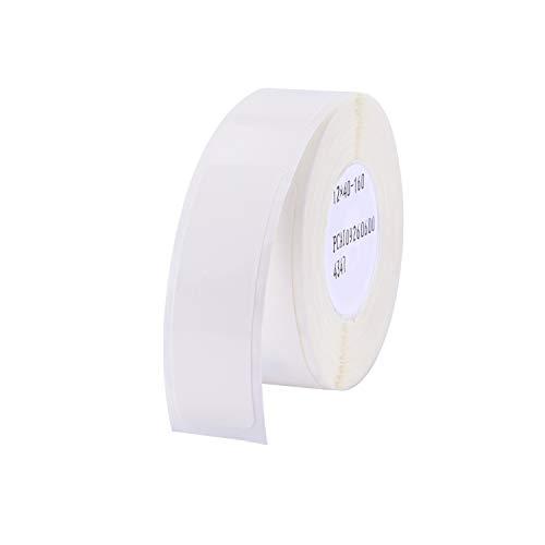 Aibecy Etikettenrolle Labeldrucker Etikettenpapier Barcode Preis Größe Name Blankoetiketten Wasserdicht Reißfest 12 * 40mm 160 stücke/rolle für Home Organizer Supermarkt Shop Catering