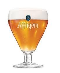 Affligem de Bélgica vaso de cerveza 33 cl
