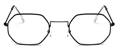 Gafas De Solseñoras Hexagonales SunglasseMetal Mujeres Diseñador De La Marca De Moda Sin MonturaClaro Océano Lentes Gafas De SolUv400 Blackvc