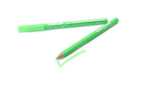 Saffron - Lápiz de ojos de neón, color verde