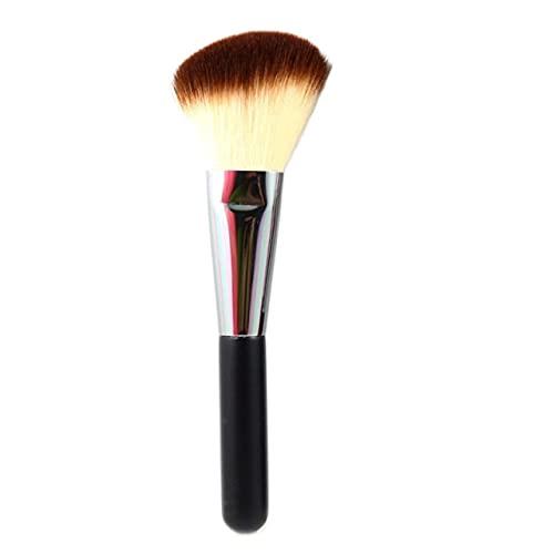 Flat Top Kabuki Brush Face Powder Blush Foundation Primer Base Cream Cosmetics Make Up Beauty Tools - Fard à joues coudé