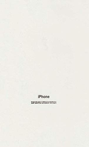 Orgic India Full Body Matte White Skin for iPhone & All Mobile Phones Get 1 Logo Free