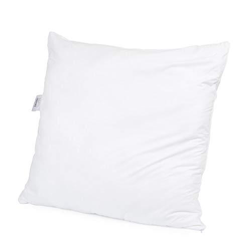 H&F Heimtextilien Top Qualität Kissen 80x80   Allergiker Kopfkissen mit Oeko-TEX Zertifiziert   Bezug: 100% Mikrofaser   Füllung: 1100 Gramm Polyester
