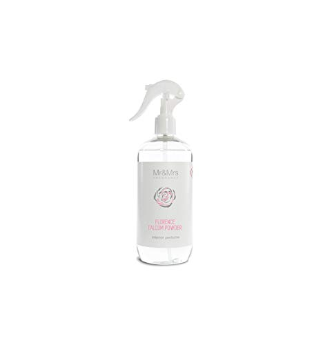 Mr&Mrs Fragrance Blanc | M&MJBLASPR008 | Spray Parfumé Pour La Chambre Et Les Textiles | Florence Talcum Powder